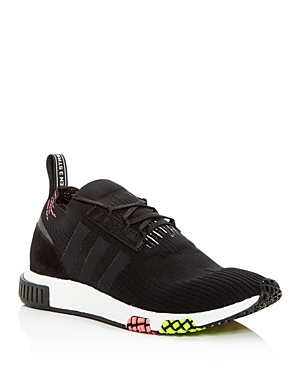 R1 adidas Up Black Lace Knit Nmd Sneakers Men's nAAfRg
