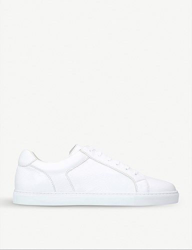 Leather Trainers Leather Deerskin Stemar Stemar White Stemar White Trainers Deerskin 4OFxgAx