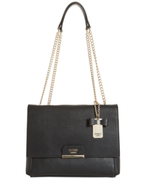 Bag GUESS Black Ryann Shoulder Medium wx6qB