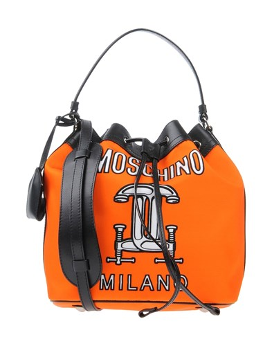 Moschino Handbags Orange Nr0AP