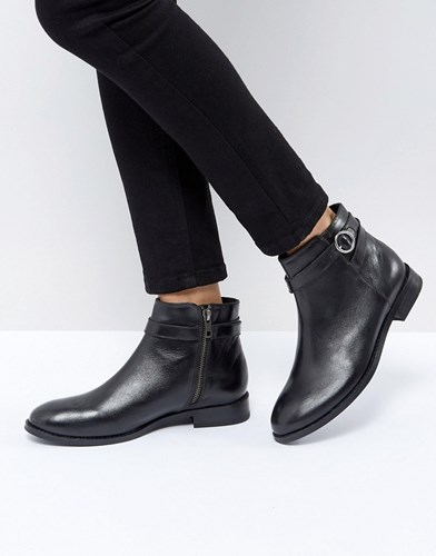 Hudson London H By Jodhpur Leather Boot Black Leather 4ss0dC