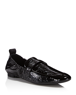 Salvatore Ferragamo Women's Patent Leather Loafers Nero vZaEoV37H