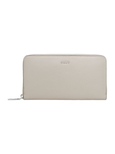 DKNY Sutton Large Zip Around Purse Light Grey WUs1iQ