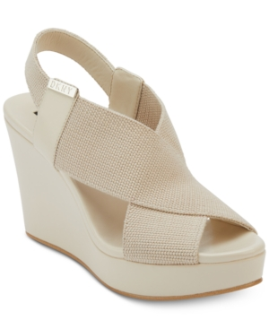 Sandals Wedge DKNY Jamara Sandals Stone DKNY Wedge Jamara WXWBTqYgf