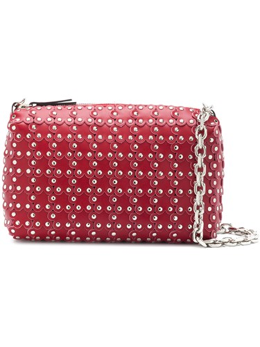 Valentino Bag Flowers Puzzle Camera RED dqw0OBd1