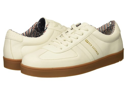 Ben Up Field Shoes White Lace Ashton Casual Sherman qHwqg7