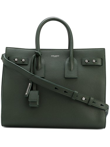 Saint Laurent Small Sac De Jour Souple Tote Green e9Y64WZx