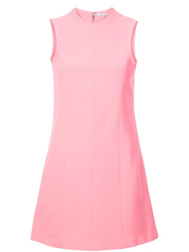 Alice + Olivia Fitted Short Dress Pink And Purple bNZwGFz