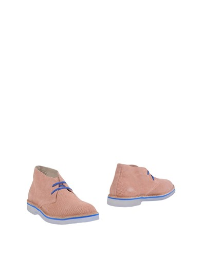 WALLY WALKER Ankle Boots Pastel Pink qsXiYdy
