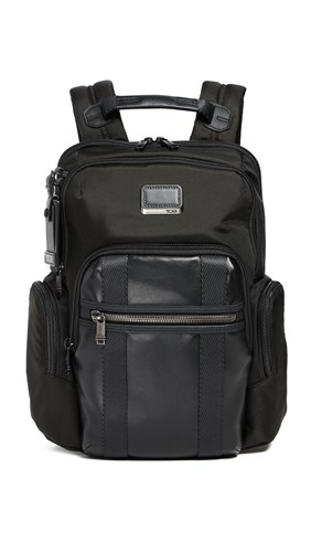 Tumi Alpha Bravo Nellis Backpack Black 3DKrum