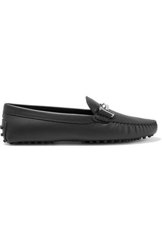 Tod's Gommino Leather Loafers Black is0sqOLw6