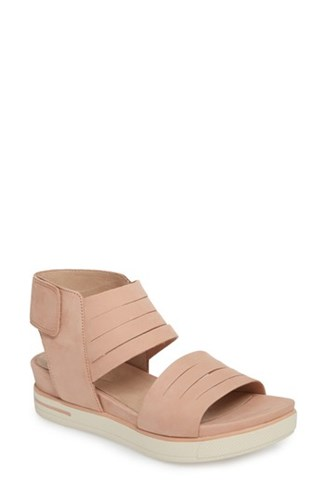 Eileen Fisher Women's Slice Sport Sandal Toffee Leather 9yK8U3Xhvl