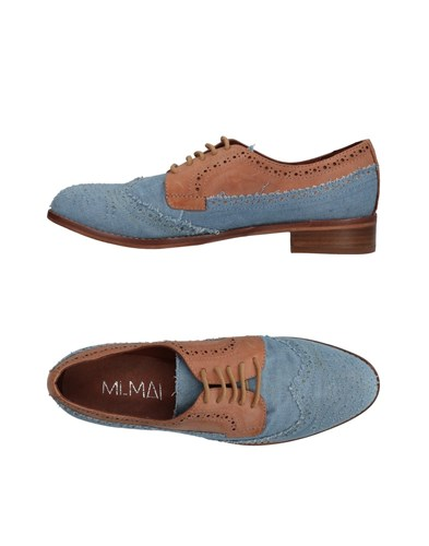 MI/MAI Lace Up Shoes Azure Dk9H3