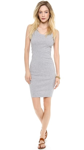 Back Grey 2X1 Racer Heather Dress Splendid q4nvpHxn