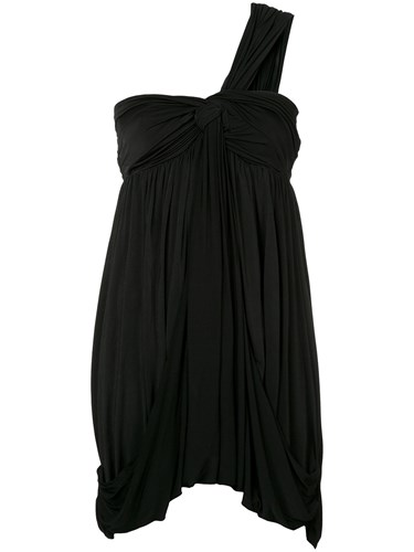 Twisted Dress We11done One Black Knot Shoulder wqEzEnxaU