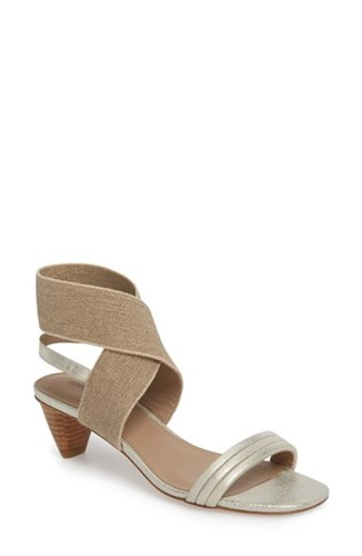Donald J Pliner Kira Sandal Platinum Leather hIxPHQW
