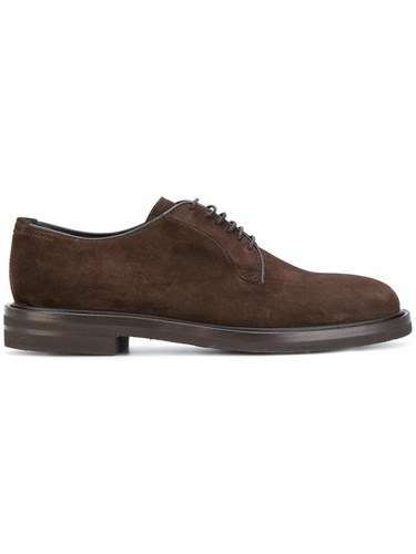Henderson Baracco Suede Derby Shoes Leather Suede Rubber Brown Peng3yHbU