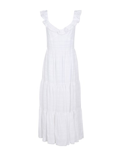 Prabal Gurung Long Dresses White 0FXVYzl