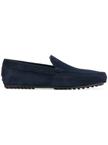 Tod's Gommino Driving Shoes Blue TtAwE0IM8v