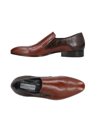 GIOVANNI CONTI Loafers Cocoa sEa2iLCo