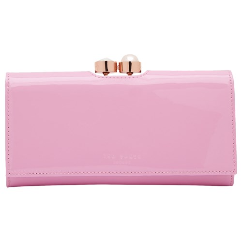 Ted Baker Cecilie Pearl Leather Matinee Purse Pale Pink OJD5kaw