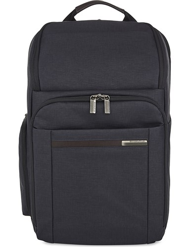 Briggs & Riley Kinzie Street Large Polyester Backpack Navy RH3U6