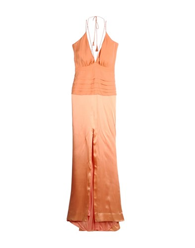By Malene Birger Long Dresses Salmon Pink YeHo9tM