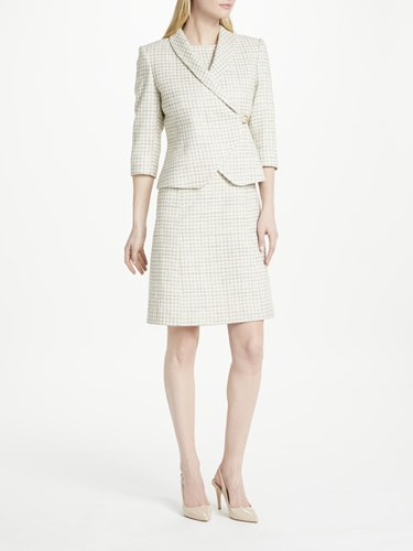 Bruce Oldfield Natural And Dress By Flare Tweed Bruce Fit 5UqaEwxH