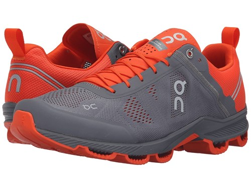 On Cloudsurfer Rock Orange Running Shoes Gray AiCabknV3F