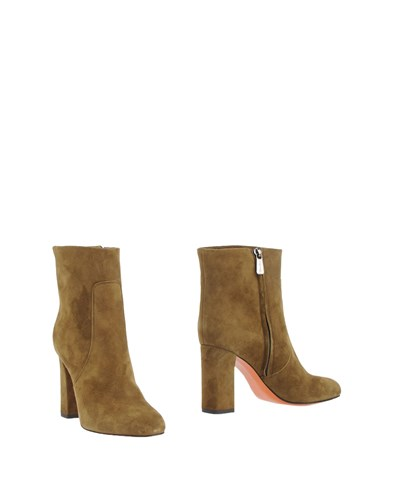 Santoni Ankle Boots Military Green 0PyMee