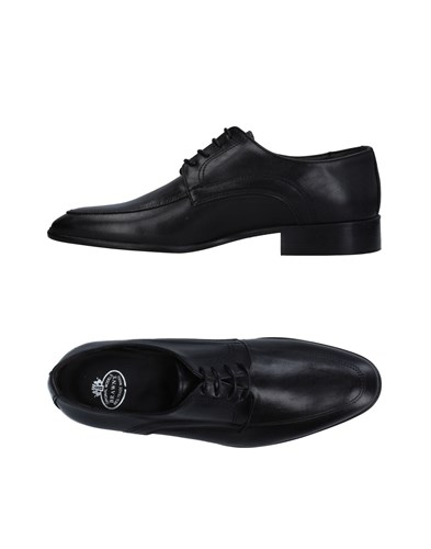 BRAWN'S Lace Up Shoes Black Ny1bKpY2g