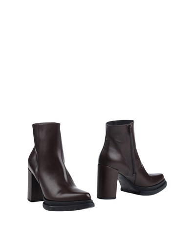 TSD12 Ankle Boots Dark Brown FD7kBnIF