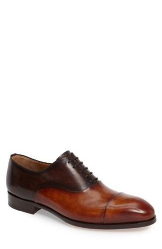 Magnanni Men's Golay Cap Toe Oxford 0zeuTRxP