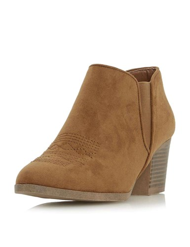 Ankle 'Poppys' Heels Head Tan Boots Perkins Dorothy Over wY8YF
