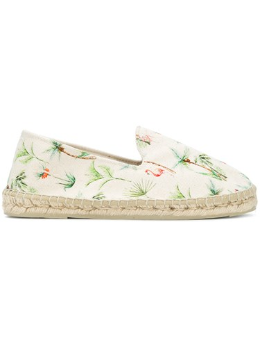 Manebí Palm Springs Print Espadrilles Nude And Neutrals PpzX15