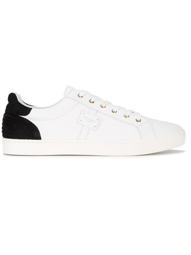 Dolce & Gabbana London Suede Sneakers Men Leather Suede Rubber 44 White OBdAByg