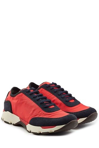 Marni Sneakers With Fabric And Suede GQuBr6Lp