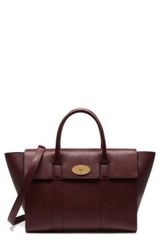 Mulberry Calfskin Bayswater Bayswater Mulberry Leather Satchel wHnYnRx1
