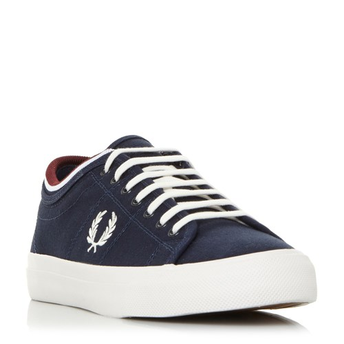 Fred Perry Kendrick Cuffed Topline Trainers Blue 5vEZKh7