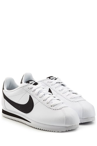 Nike Leather Cortez Sneakers White 7Pv2V