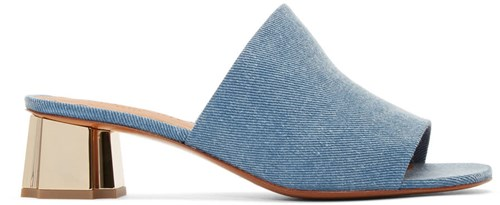 Denim Robert Lamo Blue Mules Denim 5Cvcd1