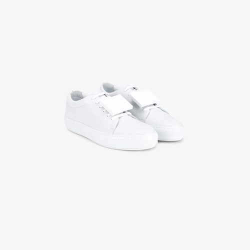 Acne Studios White Leather Adriana Sneakers 74gj3w7