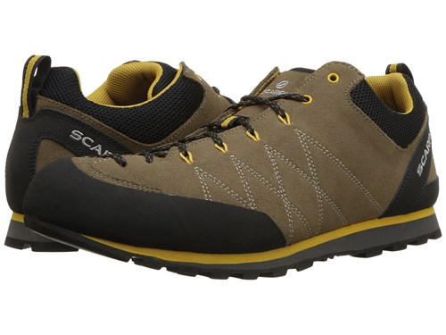 Scarpa Crux Light Brown Mustard Shoes JVNMa8