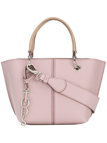Tod's Joy Small Tote Pink And Purple J5xGBHb