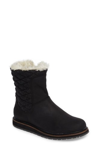 Faux Helly Hansen Angora Waterproof Jet Fur Women's Trim Boot Black Black Seraphina With YxYdr6qw