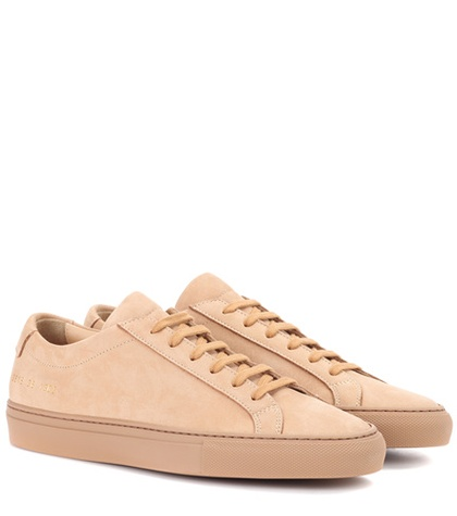 Common Projects Original Achilles Suede Sneakers Pink lgKZ5mrM