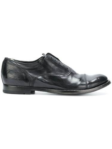 Officine Creative Classic Lace Up Shoes Black 4toIh