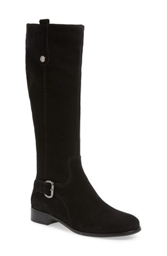 La Canadienne 'Stefanie' Waterproof Boot Black Suede rEesqbCm