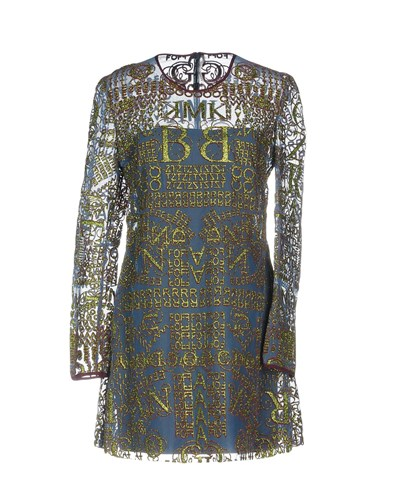 Dresses Blue Katrantzou Mary Slate Short SPngT