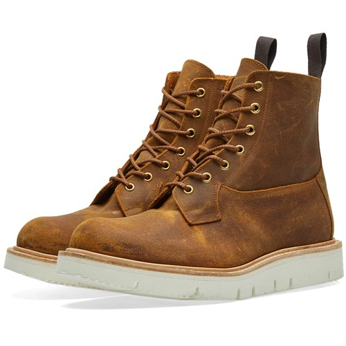 Tricker's Gloxy Sole Burford Boot Brown eSVe0